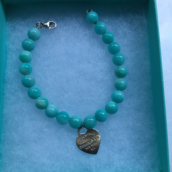 626b0e3c4 Tiffany & Co Amazonite 8mm bead bracelet. M_5b9e6121a5d7c6b6fb40f39a
